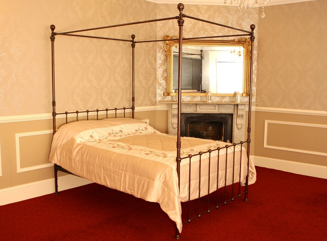 London Copper Four Poster